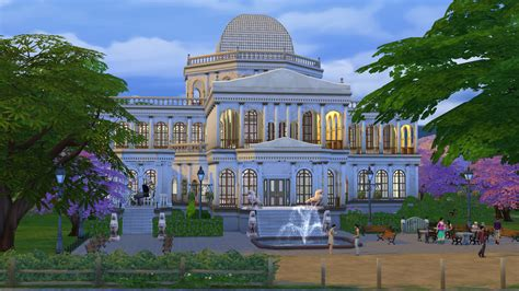 themes in the story cathedral mod the sims st sims cathedral in magnolia blossom park
