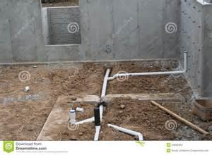 in basement plumbing 2 stock photo image 43002454