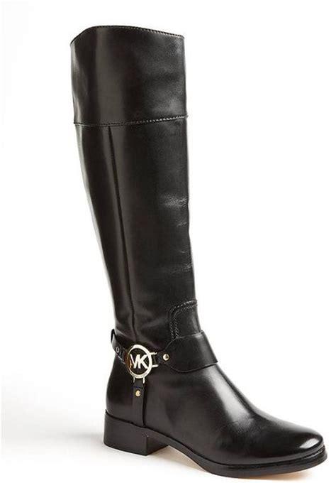michael michael kors fulton harness boots black