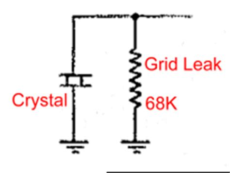what is grid leak resistor the aa8v w8exi 6cl6 one transmitter schematic diagrams and circuit descriptions