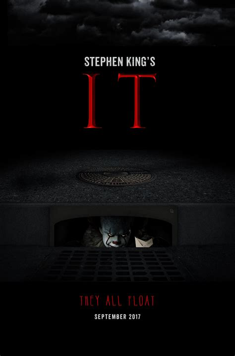 film 2017 it stephen king s it 2017 poster my rendition http ift tt