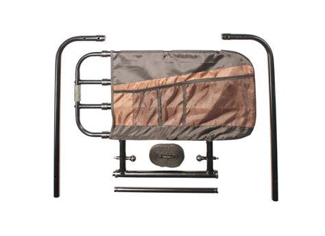 adjustable bed rail elderly safety guard bedrail secure assist folding ebay