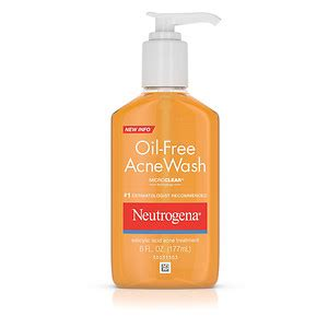 neutrogena oil free acne wash salicylic acid acne
