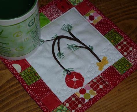 christmas tree mug rug pattern charlie brown christmas tree mug rug charlie brown