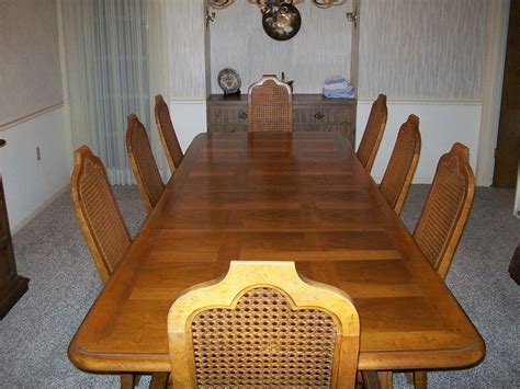 table pads dining room table american heritage dining room table with eight chairs and