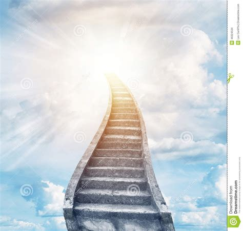 stairway to heaven stock photo image 46324534