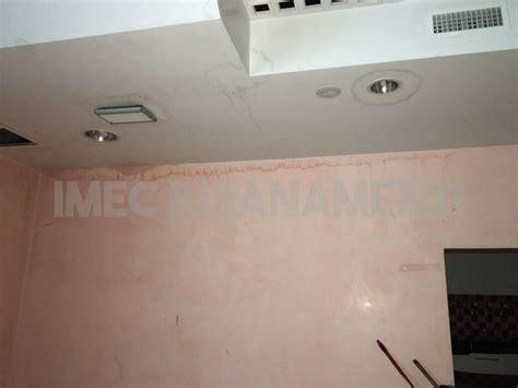 infiltrazioni soffitto infiltrazione di acqua sul soffitto imec risanamenti