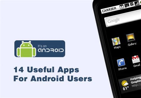14 useful apps for android users smashing wall