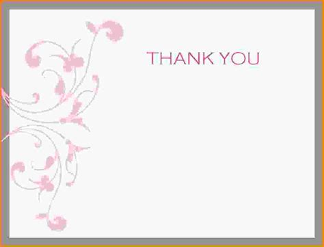 Thank You Letter Card 11 Free Thank You Card Templates Letter Template Word