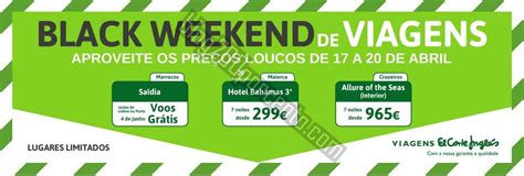 imagenes en ingles weekend black weekend el corte ingl 201 s de 17 a 20 abril blog 200