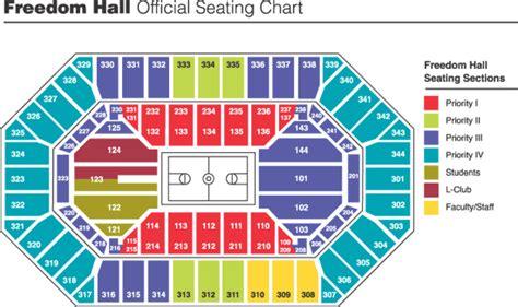 freedom seating kfc yum center louisville ky seating chart