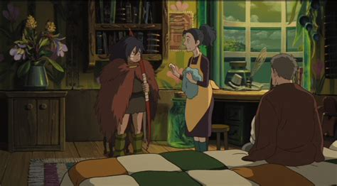 Japanese Home Interior the secret world of arrietty bd dvd anime review funblog