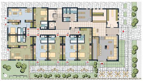 apartment building layout house plans apartment complex