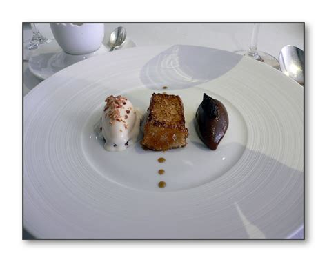 Smoked Bacon And Egg Perdu And Tea Jelly by Smoked Bacon And Egg Perdu And Tea Jelly
