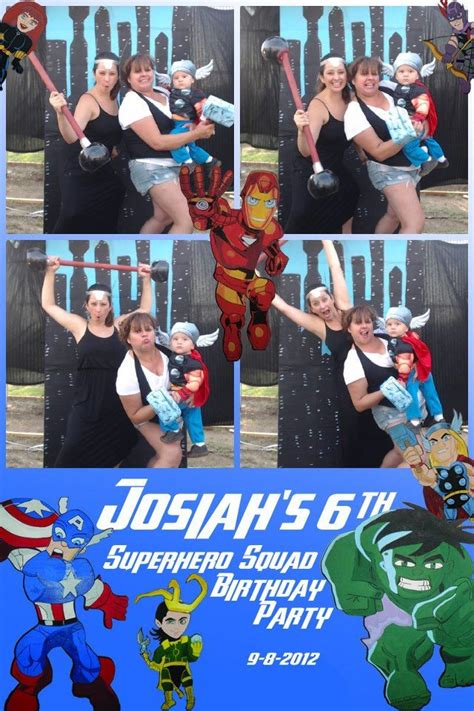 avengers photo booth layout 26 best avengers super hero party images on pinterest
