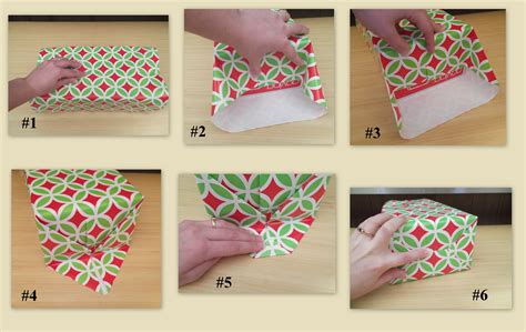 How To Make A Paper Wrap - how to wrap a gift in 6 easy steps