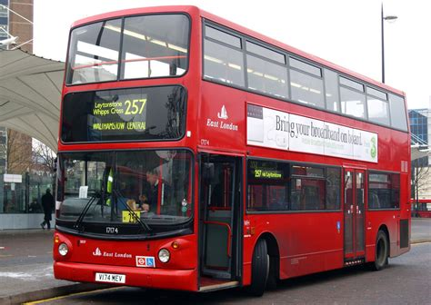 london bus routes route  stratford walthamstow central