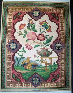 work pattern in french berlin work needlepoint pattern french 1855 partridge