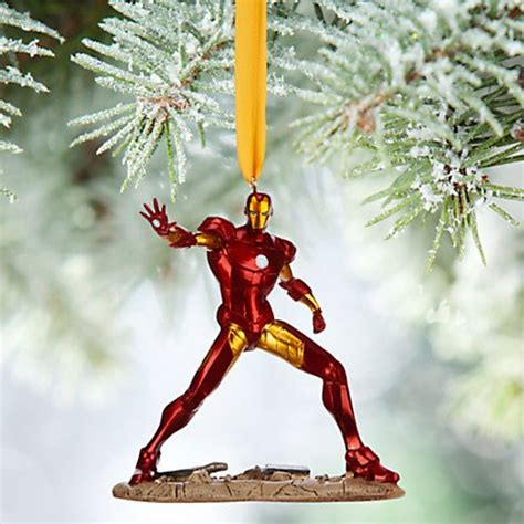 disney 2015 sketchbook iron man ornament christmas holiday