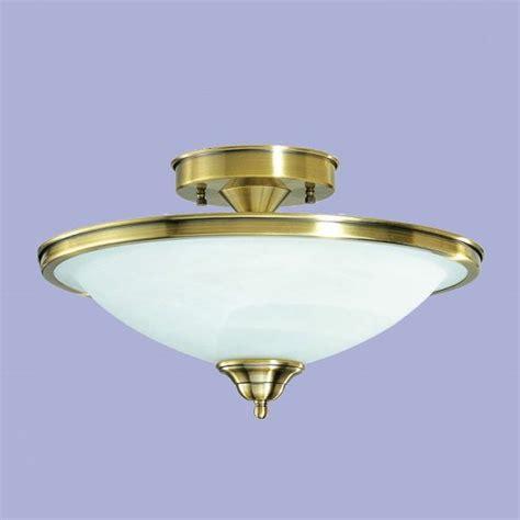 deckenleuchte metall in bronze mit wei 223 em opalglas wohnlicht