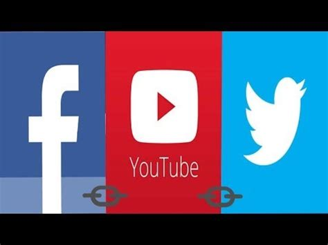 youtube twitter facebook how to link your youtube facebook and twitter askram