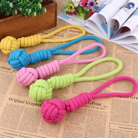 Jo In Toys Molar 1pcs rope for chew knot teeth pet