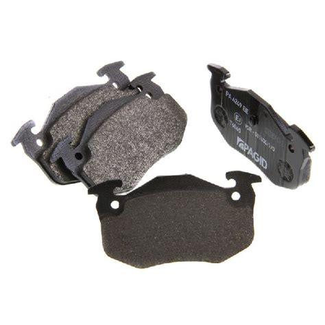 peugeot 206 brake pads peugeot 206 cc 2 0 litres pagid rear brake pads set ebay