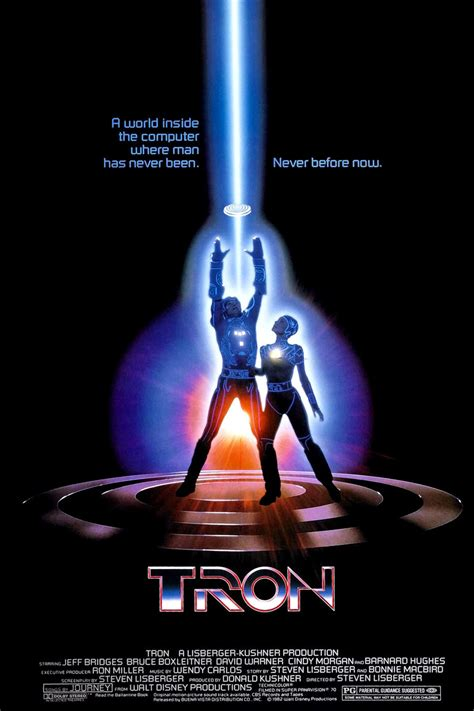 1982 disney film xword review tron the viewer s commentary