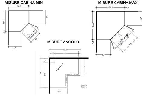 misure cabine armadio angolari armadio ad angolo per tutti i gusti e tutte le dimensioni