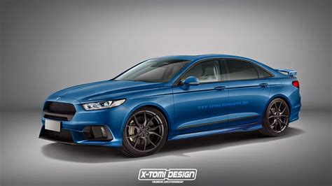 Gallery Home Design Torino by 2017 Ford Taurus Rs Looks Cool But Is Unlikely To Happen