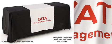 24 wide table runners white table runner with custom printed text 30 quot white