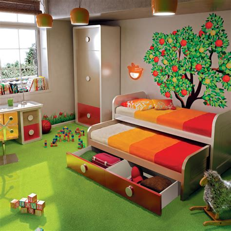 20 kids bedrooms that usher in a fun tropical twist 47 small double bed for kids best 20 double beds ideas on