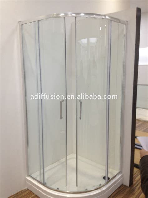 curved glass shower door patented installation wheels curved glass