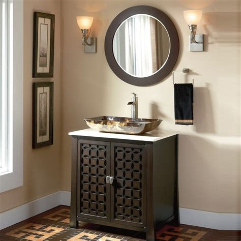 Bathroom With Vanity by Schon Sc80029ra Single Bathroom Vanity Mediterranean