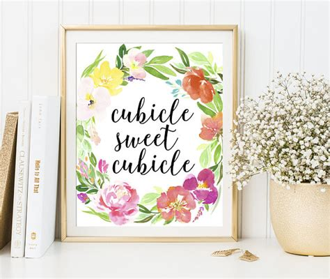 cubicle decor cubicle sweet cubicle office wall decor office cubicle sweet cubicle sign printable office decor cubicle wall