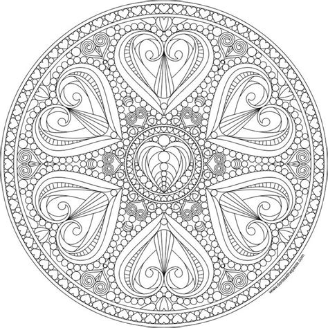 mandala coloring pages valentines 275 best winter color by number pages for