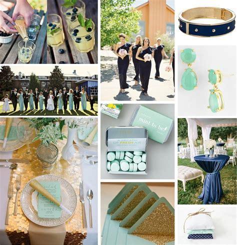 Mint Green, Navy, and Gold   Wedding Stuff   Wedding mint