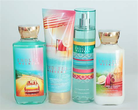 Lot Endless Weekend bath and works endless weekend gift set