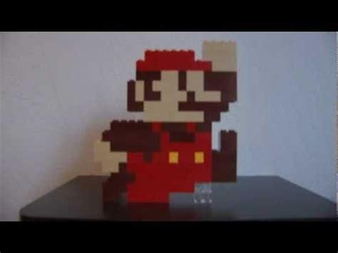 mario jump super mario bros lego sculpture youtube