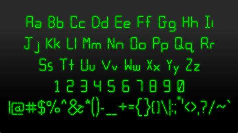 calculator font calculator font dafont com