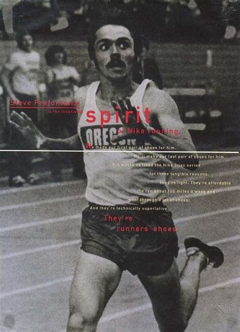 steve prefontaine running shoes 214 best images about nike ads on advertising