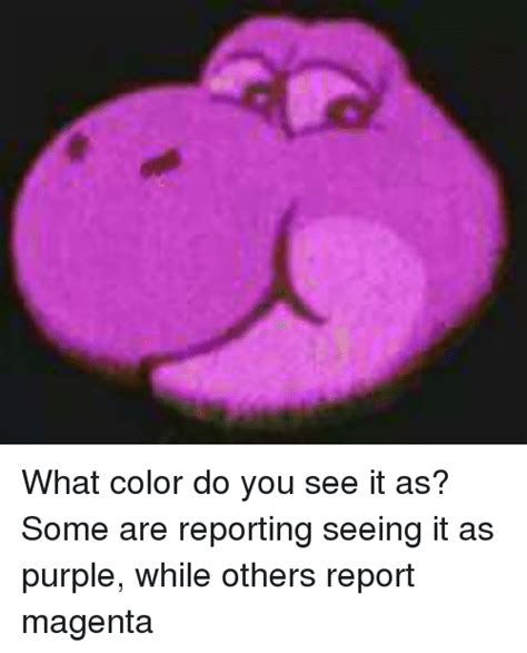 what color do you see it as some are reporting seeing it