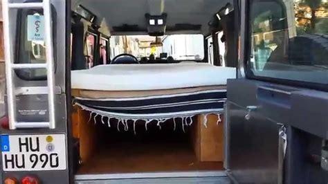 Bett 2 00x2 20 by Land Rover Umbau Bett Ohne Hubdach