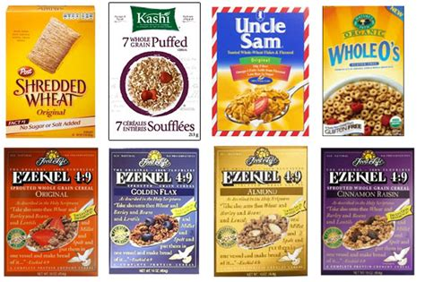 7 But Healthy Cereals by Choose Wisely Breakfast Cereal