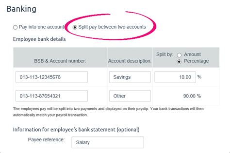 The Only Web 20 Account Youll Need Useless Account by Split A Pay Between Bank Accounts Myob