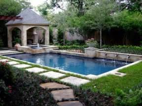 Small Backyard Pool Landscaping Ideas Small Garden Pool Landscape Ideas Pictures Felmiatika