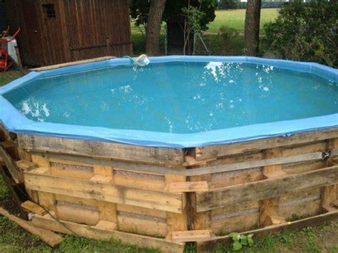 pool selbst bauen pool aus paletten selber bauen wichtige tipps und ideen