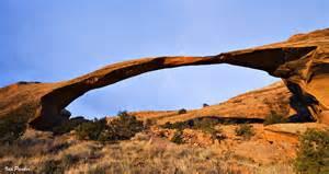 Landscape Arch Arches Evanescent Light Arches National Park