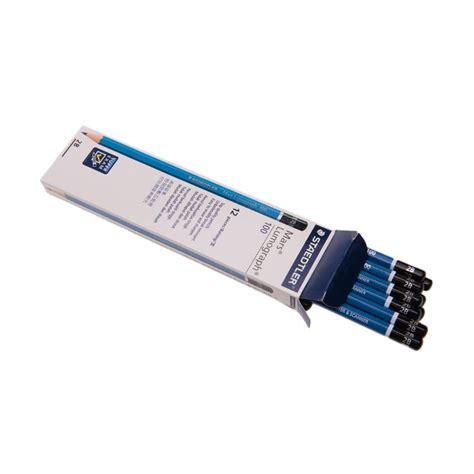 Pensil Karakter 2b Berkualitas jual staedtler lumograph 2b blue pensil 12 pcs harga kualitas terjamin blibli