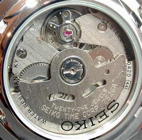 Seiko Automatic 7s26 seiko caliber 7s26 movement calibercorner